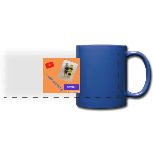 Luke Gaming T-Shirt - Full Color Panoramic Mug