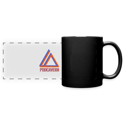PodCavern Logo - Full Color Panoramic Mug