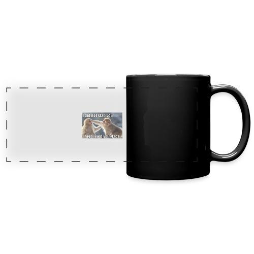 funny animal memes shirt - Full Color Panoramic Mug