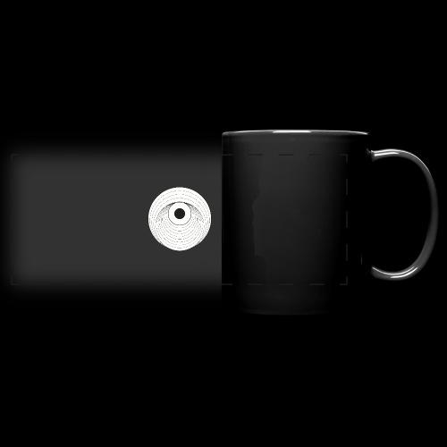 Black Dirt Vortex Logo Light - Full Color Panoramic Mug