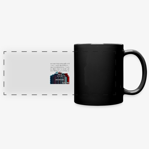 ERROR Lyrics - Full Color Panoramic Mug