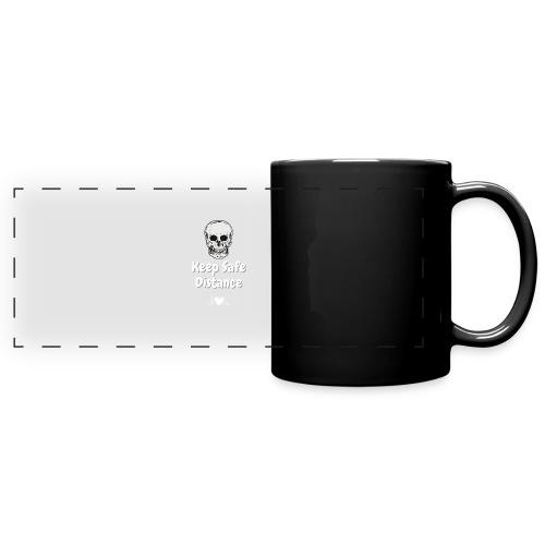 Keep Safe Distance - Full Color Panoramic Mug