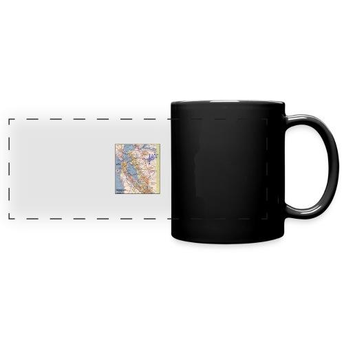 Phillips 66 Zodiac Killer Map June 26 - Full Color Panoramic Mug