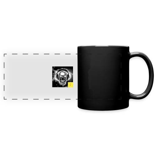 skull - Full Color Panoramic Mug