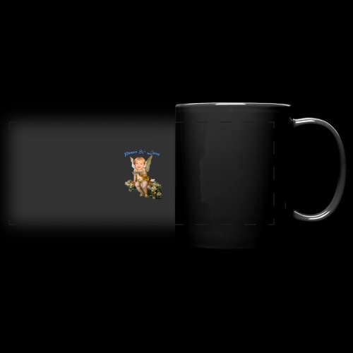 Peace and Love - Full Color Panoramic Mug