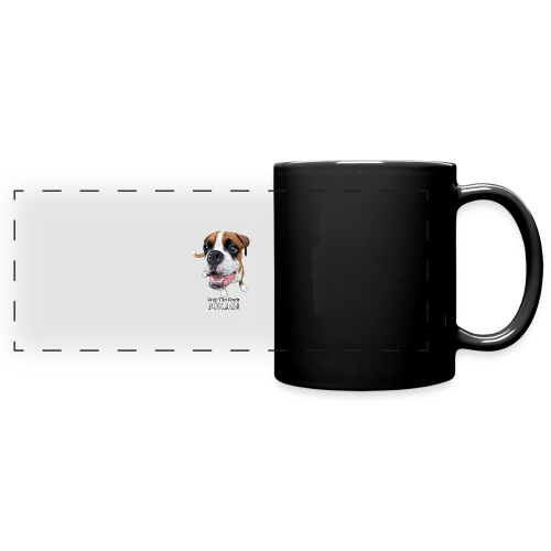 Only the best - boxers - Full Color Panoramic Mug