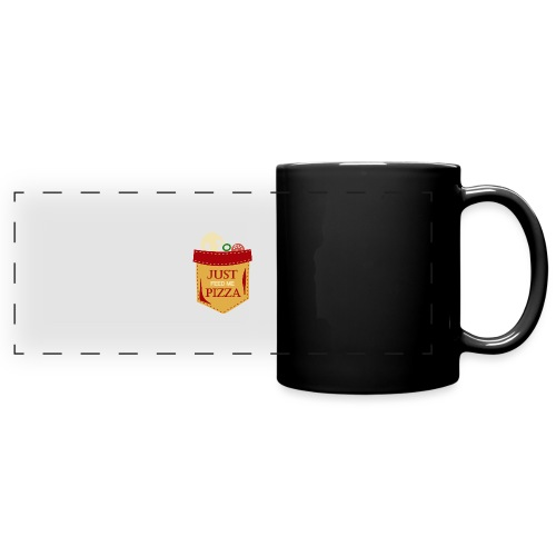 Just feed me pizza - Full Color Panoramic Mug