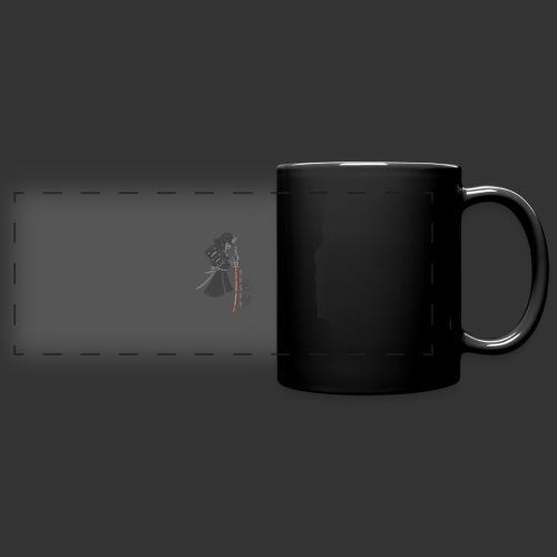 Samurai (Digital Print) - Full Color Panoramic Mug