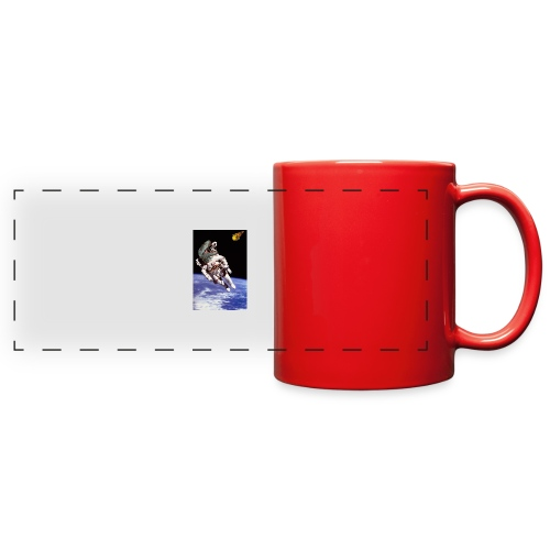 how dinos died - Full Color Panoramic Mug