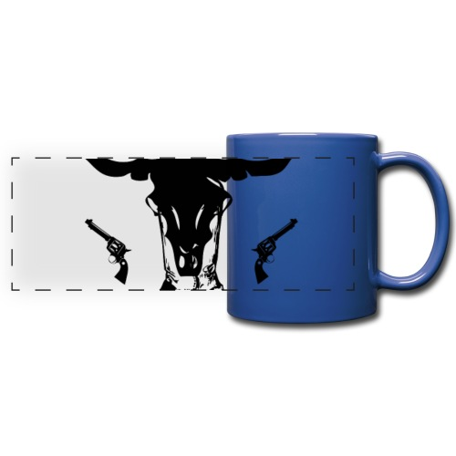 COWGIRLS ARE BADASS - Full Color Panoramic Mug