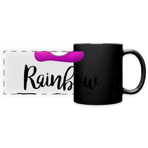 Rainbow Poo - Full Color Panoramic Mug