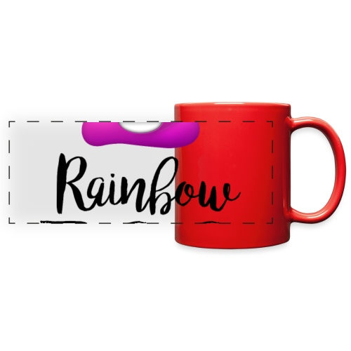 Rainbow Poo - Full Color Panoramic Mug