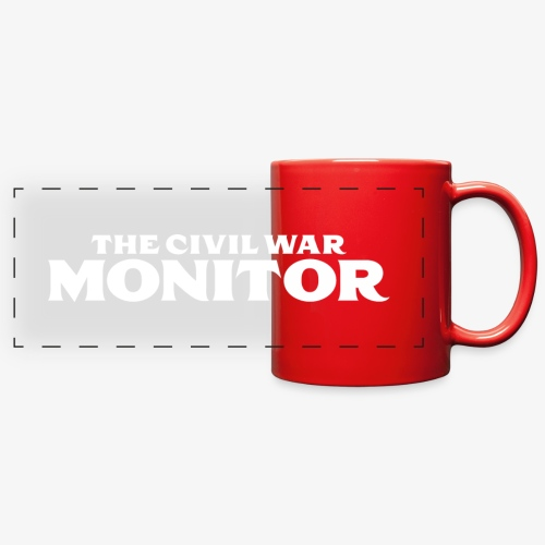 CWM LOGO WHITE - Full Color Panoramic Mug