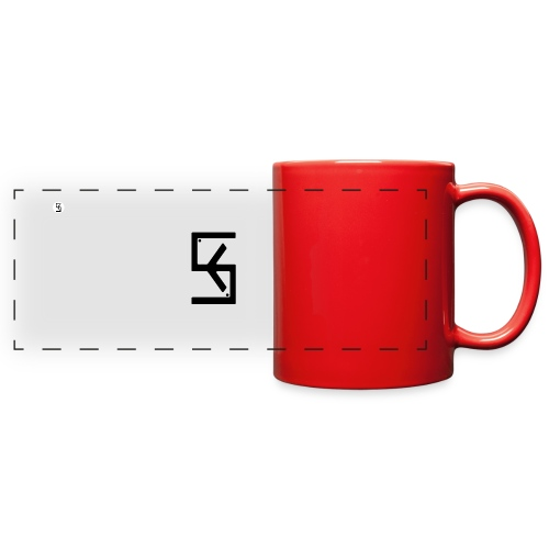 Soft Kore Logo Black - Full Color Panoramic Mug