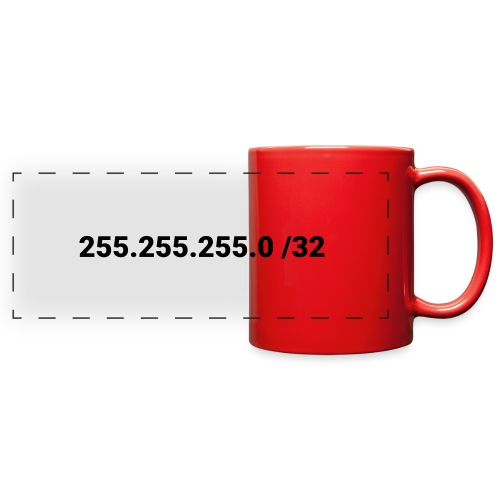 Subnet Mask - Full Color Panoramic Mug