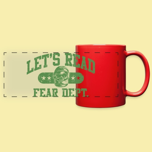 Athletic - Fear Dept. - Full Color Panoramic Mug