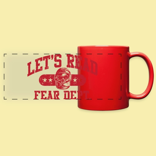 Athletic - Fear Dept. - RED - Full Color Panoramic Mug