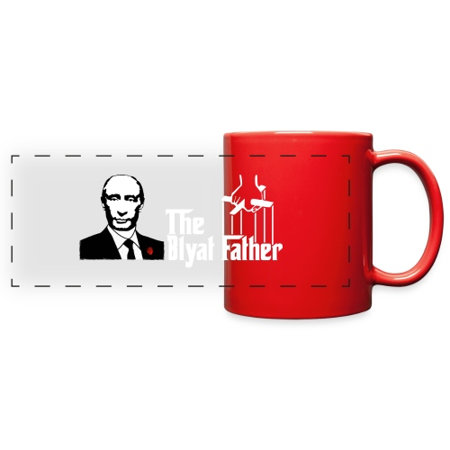 The Blyat Father - Full Color Panoramic Mug