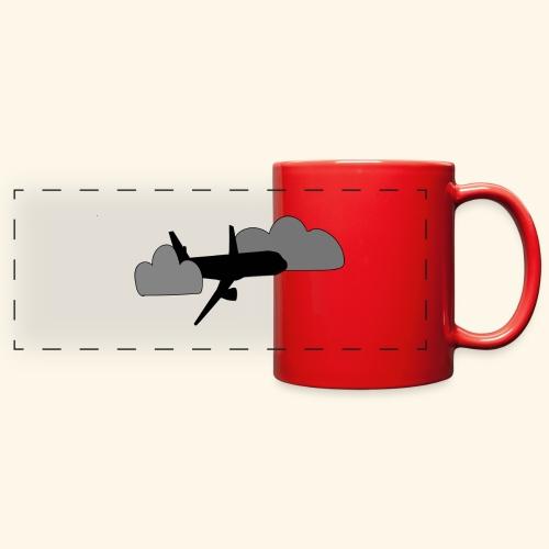 plane - Full Color Panoramic Mug
