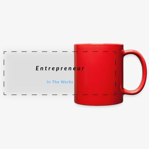 Entrepreneur In The Works - Full Color Panoramic Mug