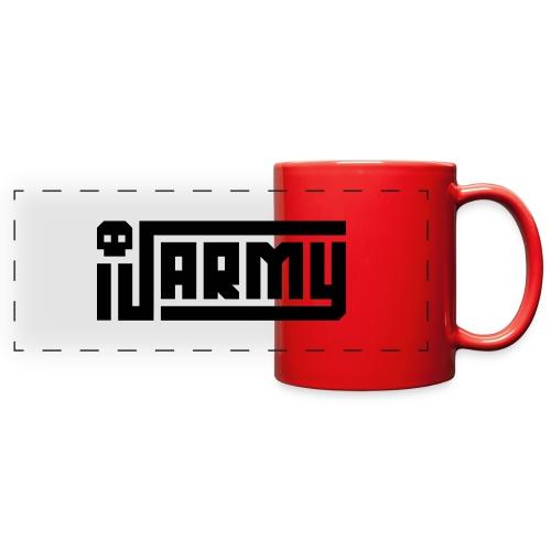 iJustine - iJ Army Logo - Full Color Panoramic Mug