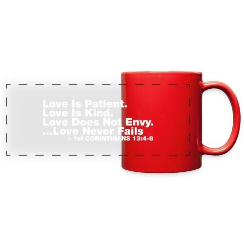 Love Bible Verse - Full Color Panoramic Mug