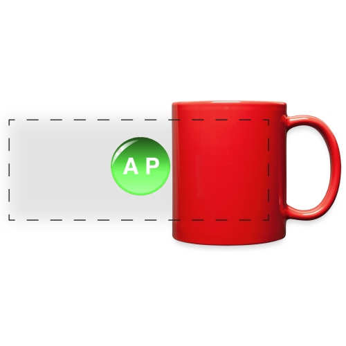 Classic Abnormal Playz Logo - Full Color Panoramic Mug
