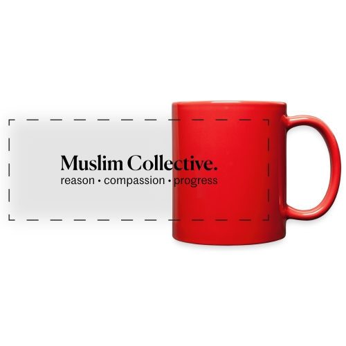 Muslim Collective Logo + tagline - Full Color Panoramic Mug