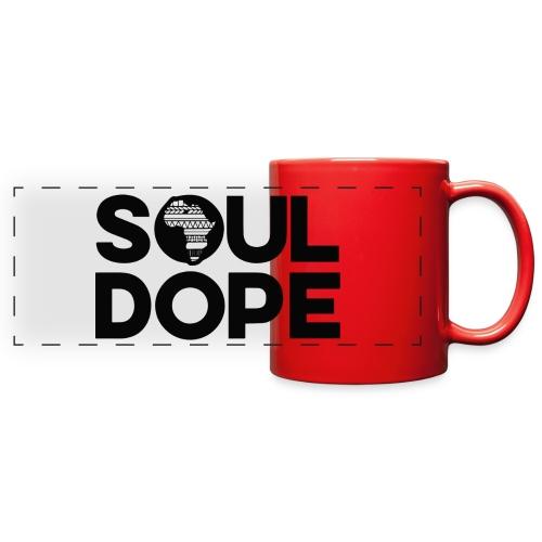 souldope Black Logo - Full Color Panoramic Mug