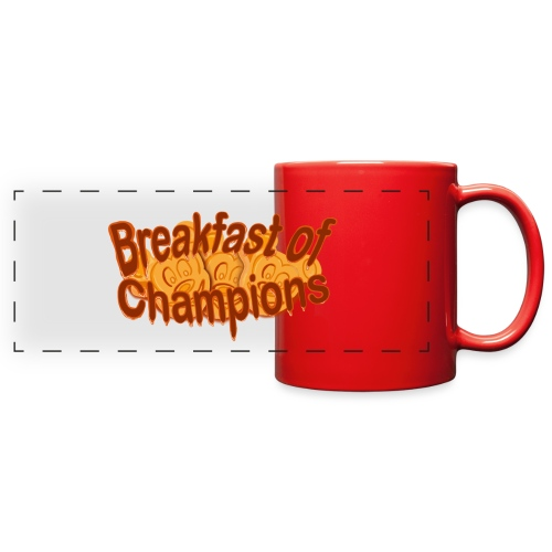 Breakfast of Champions - Full Color Panoramic Mug
