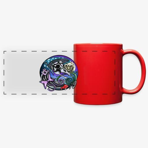 Mother CreepyPasta Nursery Rhyme Circle Design - Full Color Panoramic Mug