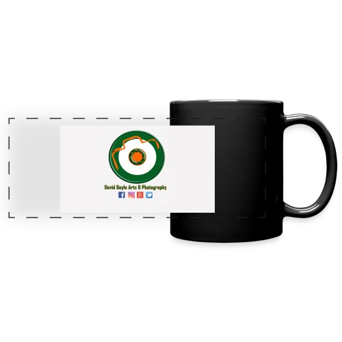 David Doyle Arts & Photography Logo - Full Color Panoramic Mug