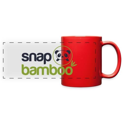 Snap Bamboo Square Logo Branded - Full Color Panoramic Mug