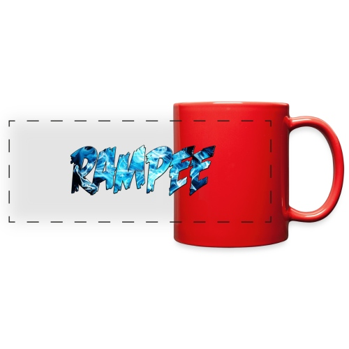 Blue Ice - Full Color Panoramic Mug