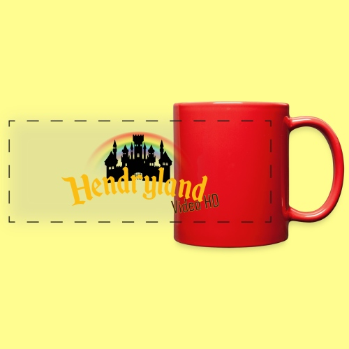 HENDRYLAND logo Merch - Full Color Panoramic Mug