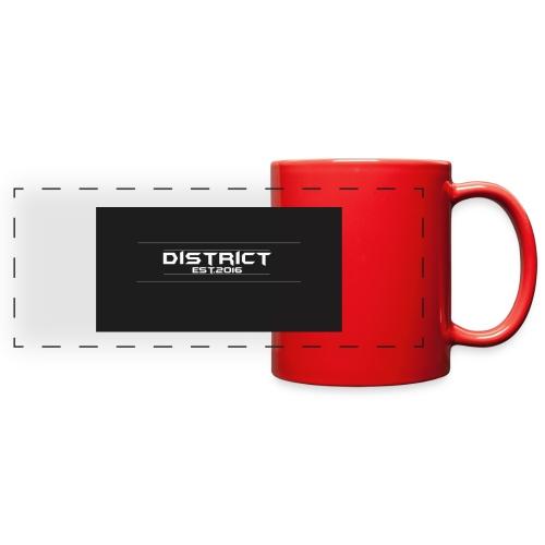 District apparel - Full Color Panoramic Mug