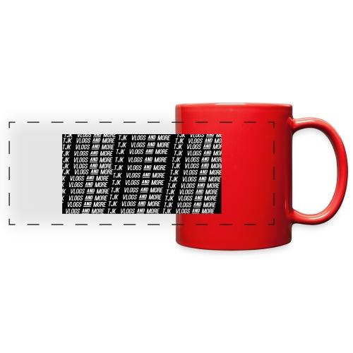 TJK First Apparel Design - Full Color Panoramic Mug