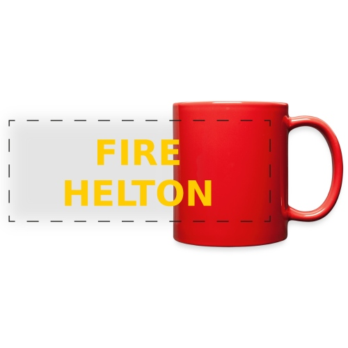 Fire Helton Shirt - Full Color Panoramic Mug