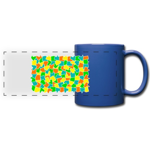 Dynamic movement - Full Color Panoramic Mug