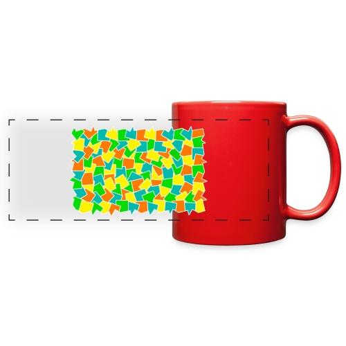 Dynamic movement - Full Color Panoramic Mug