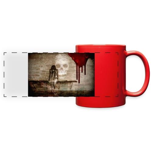 sad girl - Full Color Panoramic Mug