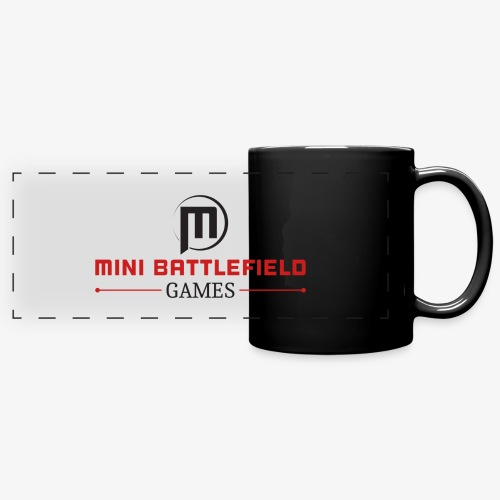 Mini Battlefield Games Logo - Full Color Panoramic Mug