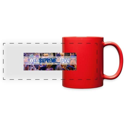 XXI SUPREME GOKU LOGO 2 - Full Color Panoramic Mug