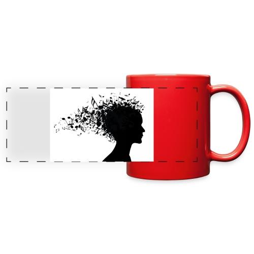 music through my head - Full Color Panoramic Mug