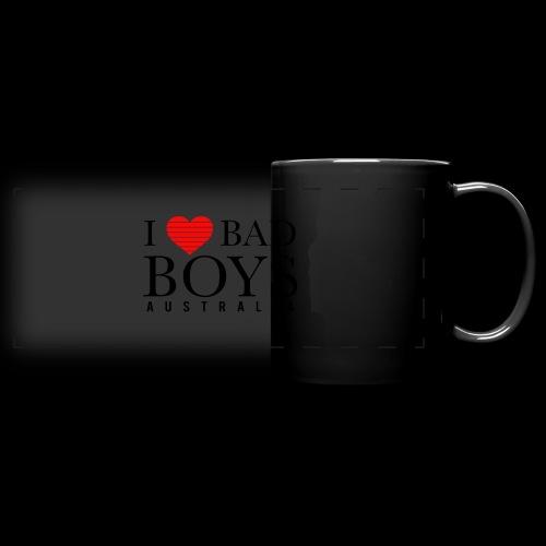 I LOVE BADBOYS - Full Color Panoramic Mug