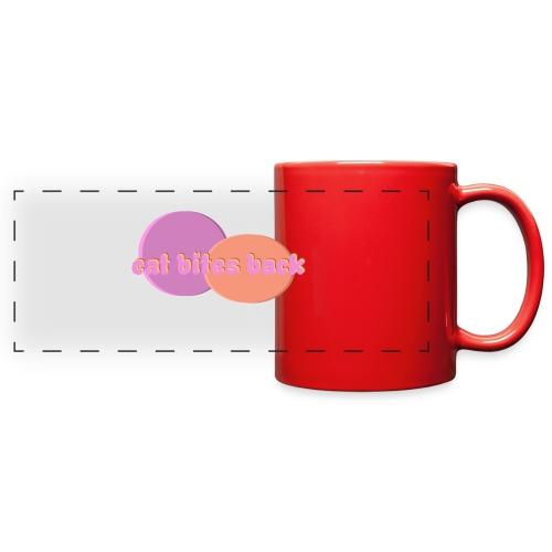 Cat Bites Back - Full Color Panoramic Mug