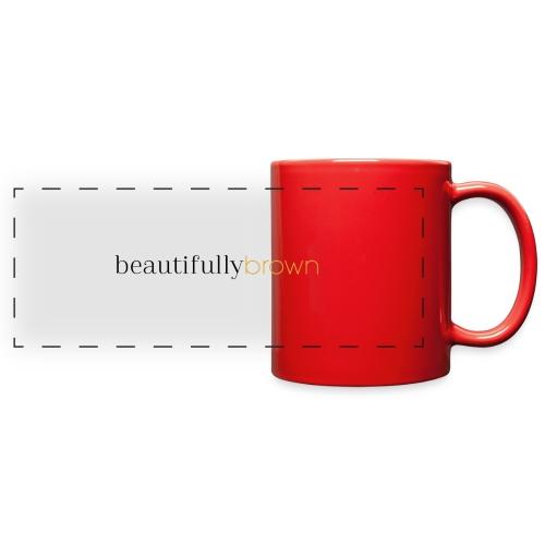 beautifullybrown - Full Color Panoramic Mug
