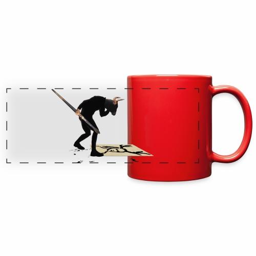 Anguish Artist and AntlerGirl - Full Color Panoramic Mug