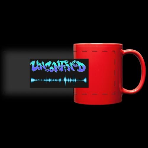 unconfined design1 - Full Color Panoramic Mug