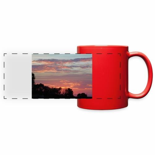 Sunset of Pastels - Full Color Panoramic Mug